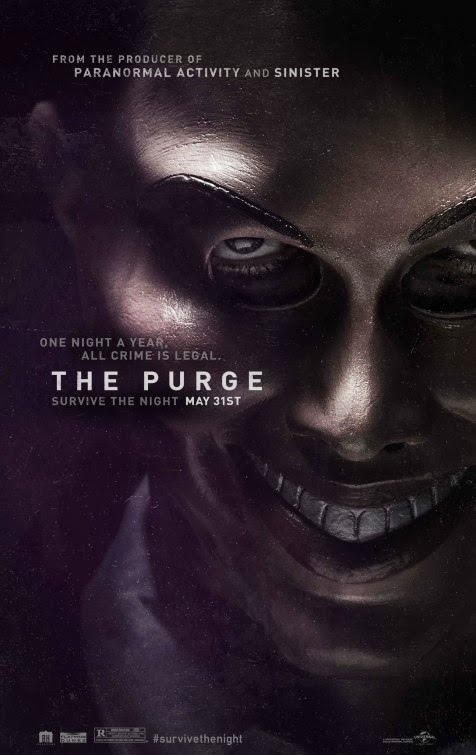 Poster Of The Purge (2013) Full Movie Hindi Dubbed Free Download Watch Online At Alldownloads4u.Com
