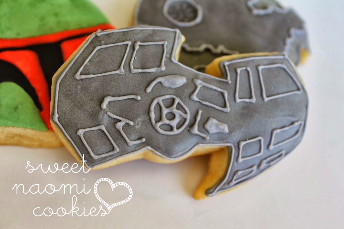Tie Fighter Cookie