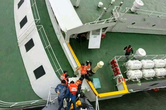 【韓国船沈没まとめ】韓国メディア「沈没船は日本製」と報じる/韓国、日本の支援申し出を断る→不明者家族、日本支援「拒絶」説で非難