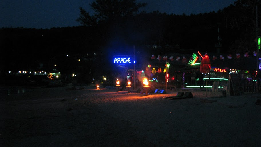 Beach nightlife on Koh Phi Phi Don