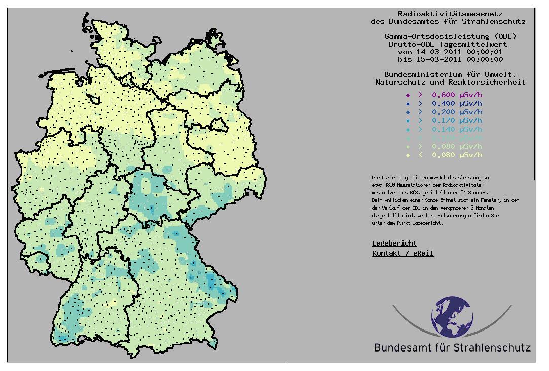 Landkartenblog Amtliche Deutschlandkarte Zeigt Taglich Aktuelle