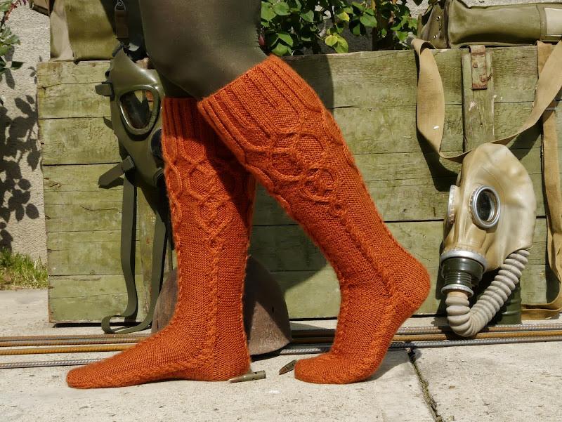 Provocare tricotat nr. 1 - Şosete, botoşei, jambiere. - Pagina 4 P1260807