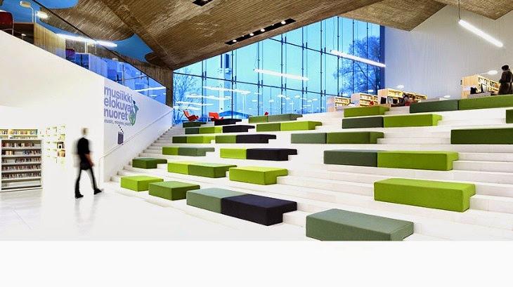 Library in Seinajoki, Finland