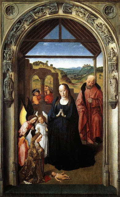 Dieric Bouts - Nativity.