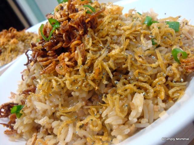 minced pork fried rice