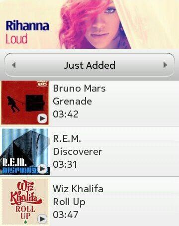 Nokia MusicExplorer