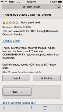 Kitchenaid 800 Number random musings: kitchenaid replacement parts