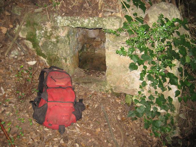 Font de la cova de l'Afrau