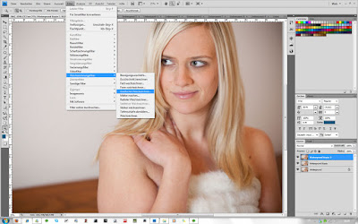 Gaußscher Weichzeichner in Photoshop