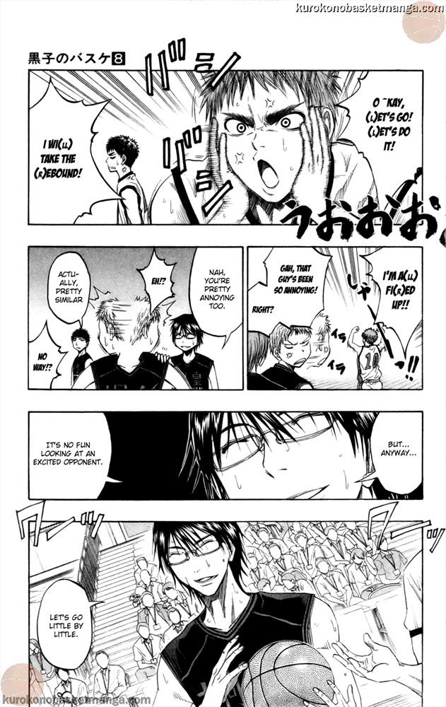 Kuroko no Basket Manga Chapter 66 - Image 3