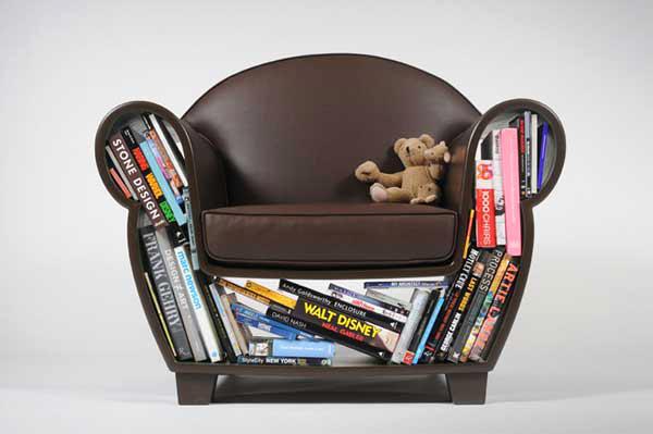 стол за съхраниение на книги, списания, цветя, играчки