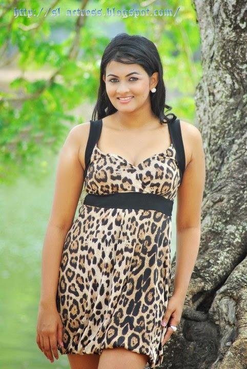 Piumi Srinayaka in Red Dress  Srilankan Models Sri Lankan
