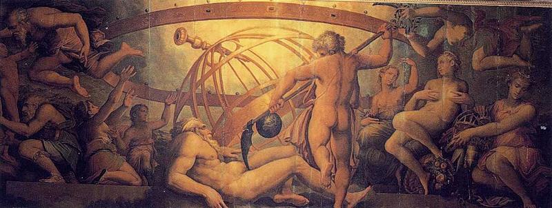 Kronas (Saturnas) nuduria savo tėvą Uraną
