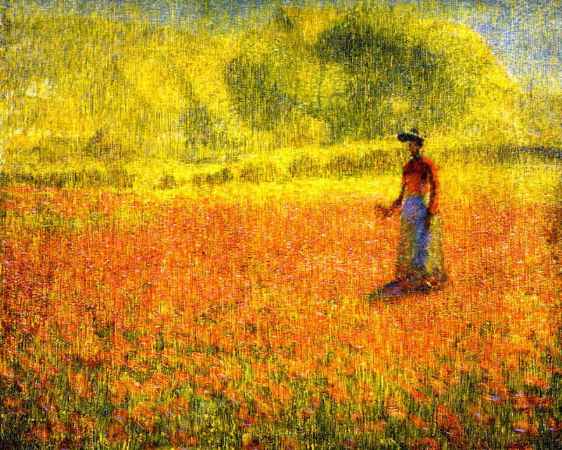 Philip Leslie Hale - Poppies