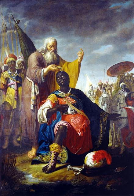 Abraham Bloemaert - De doop van de kamerling