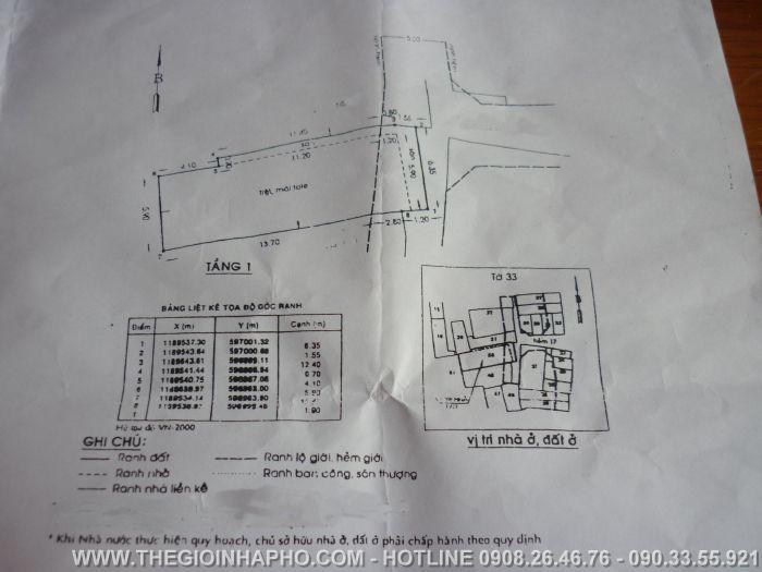 Bán nhà Nguyễn Chí Thanh ,Quận 11 giá 4, 2 tỷ -NT6