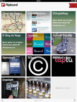 Blog a Flipboard 7