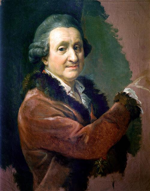 Pompeo Batoni - Self-portrait.
