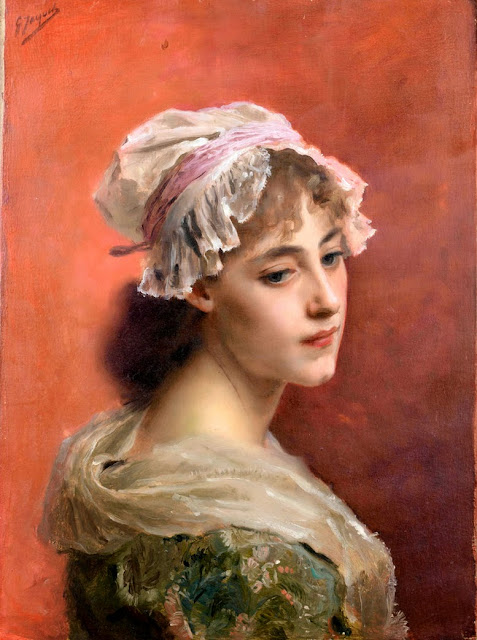 Gustave Jean Jacquet - Lost In Thought