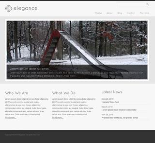 Elegance � Simple and Elegant WordPress Theme