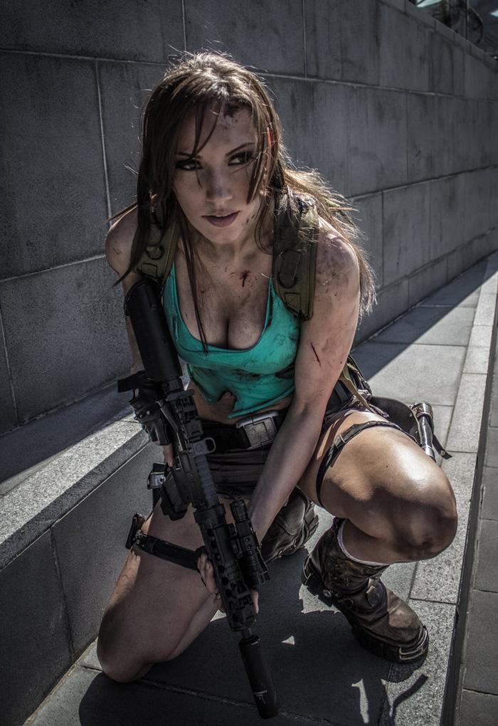 """Bộ ảnh cosplay tuyệt vời về """"siêu điệp viên"""" Lara Croft - Ảnh 4"""