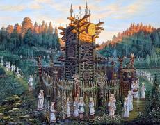 Картина - Святилище Числобога
