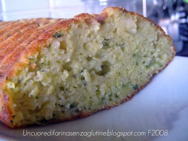 Cake di zucchine senza glutine
