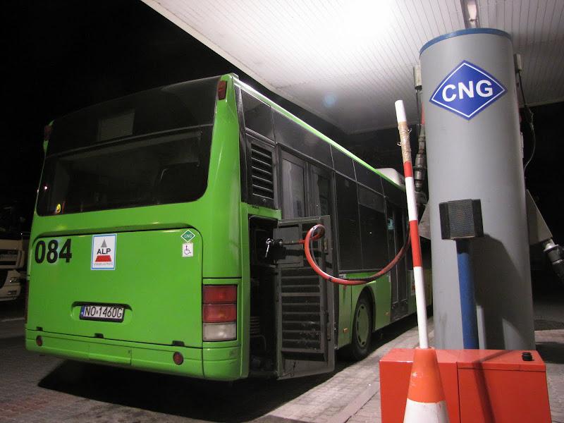 Unia Europejska finansuje budowę stacji CNG!
