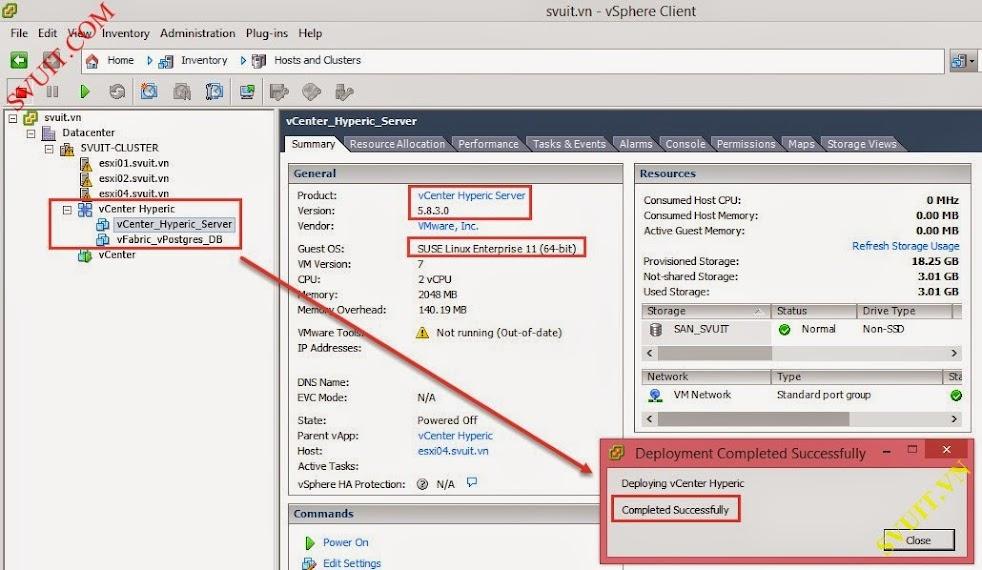 install VMware vSphere App HA 17