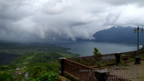 Pemandangan Danau Batur (Kintamani, Bali)