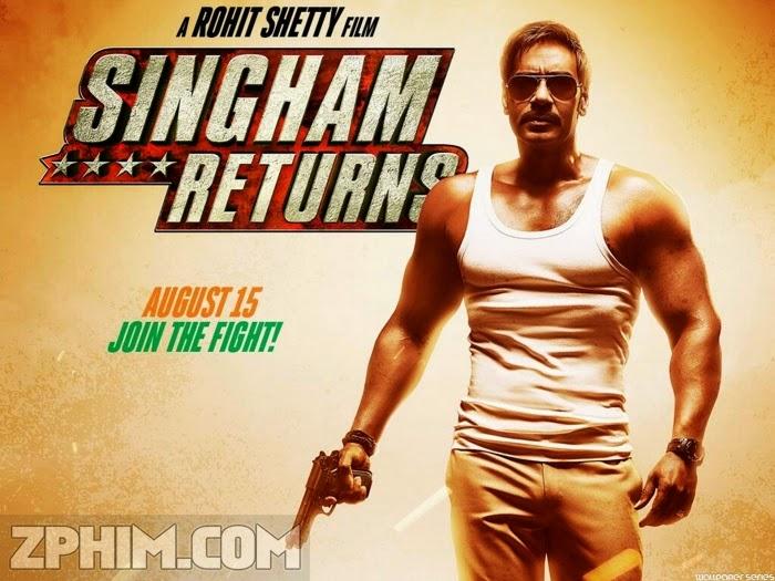Ảnh trong phim Cảnh Sát Singham Trở Lại - Singham Returns 1