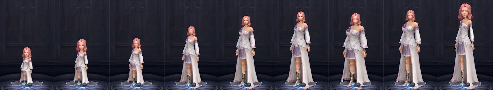 Aion Female Physique