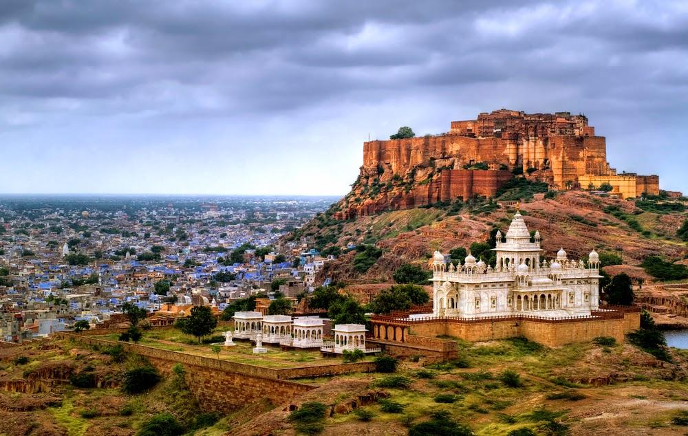 Mehrangarh Fort in Rajasthan