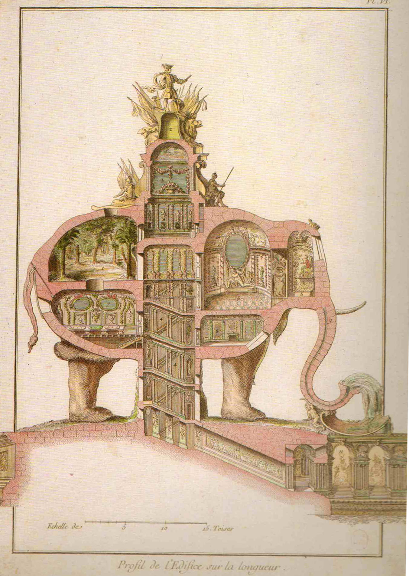 Pruned elefantasia for Elephant design hotel 4