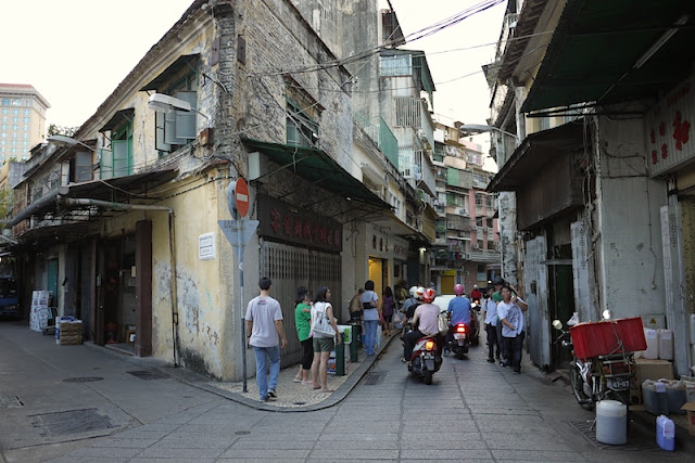 older buildings in Macau