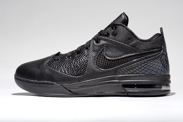 Preview of Nike Air Max Ambassador IV in 8220Triple Black8221 Colorway