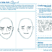 Two versions of the face, each serviceable, in my opinion. Depends on the context. Is this moment about revealing the character's true motives to the reader? Then I think v1 works for that. No ambiguity there. But if we're trying to set up some misdirection or tension, a more sincere expression (v2) coupled with the sleazy dialog might help to defy readers' expectations.
