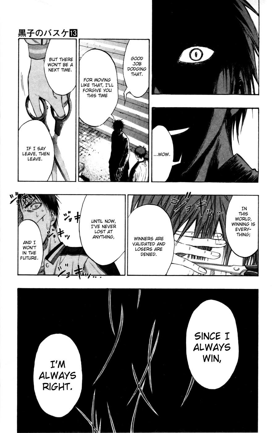 Kuroko no Basket Manga Chapter 113 - Image 16