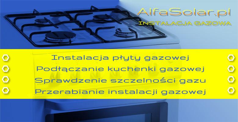 instalacja kuchenek gazowych Wrocław