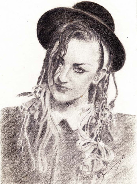 My drawing-Boy George