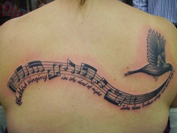 50 Cool Music Tattoo Designs And Ideas
