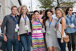 2013 NCAF Queen Azalea Jennifer Wayne, Committee Chair Dana Reason Evans, Celebrity Guests Emily Maynard, Alexa Alemanni