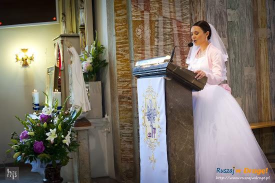 ślub Kasi i Maćka - czytanie