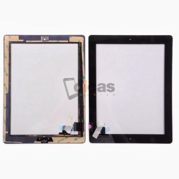 Pantalla t ctil ipad 2 negra digitalizador ventana touch for Oficina 3058 cajamar