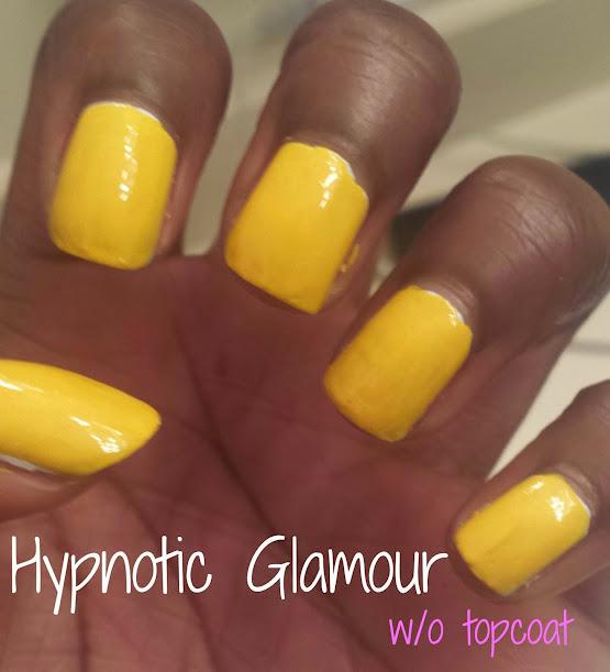 Yellow Nail Polish On Black Skin - Absolute cycle