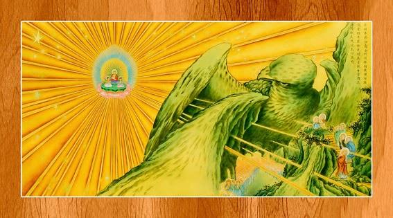 Bộ ảnh đẹp minh họa bản Kinh A Di Đà 8