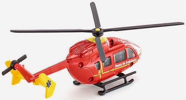 Máy bay trực thăng cứu thương Siku 1647 giúp trẻ em được chơi vui