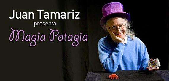 Juan Tamariz regresa al Teatro Circo Price con su espectáculo 'Magia Potagia'