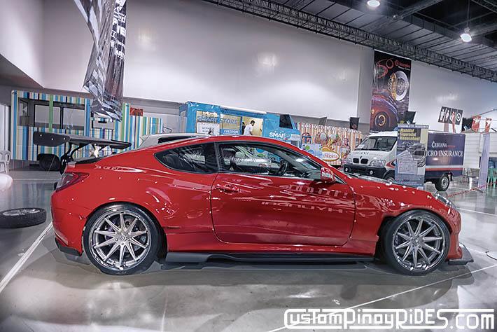 Hyundai Genesis Coupe Amuse Vestito Rocket Bunny Atoy Customs Trans Sport Show Philip Aragones pic6