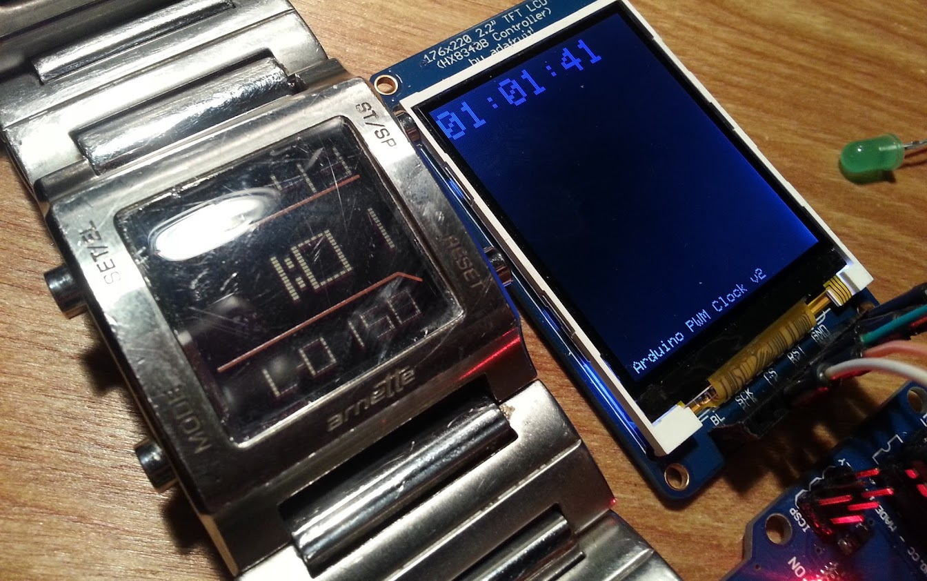Controlling a clock with an Arduino C i b o M a h t o